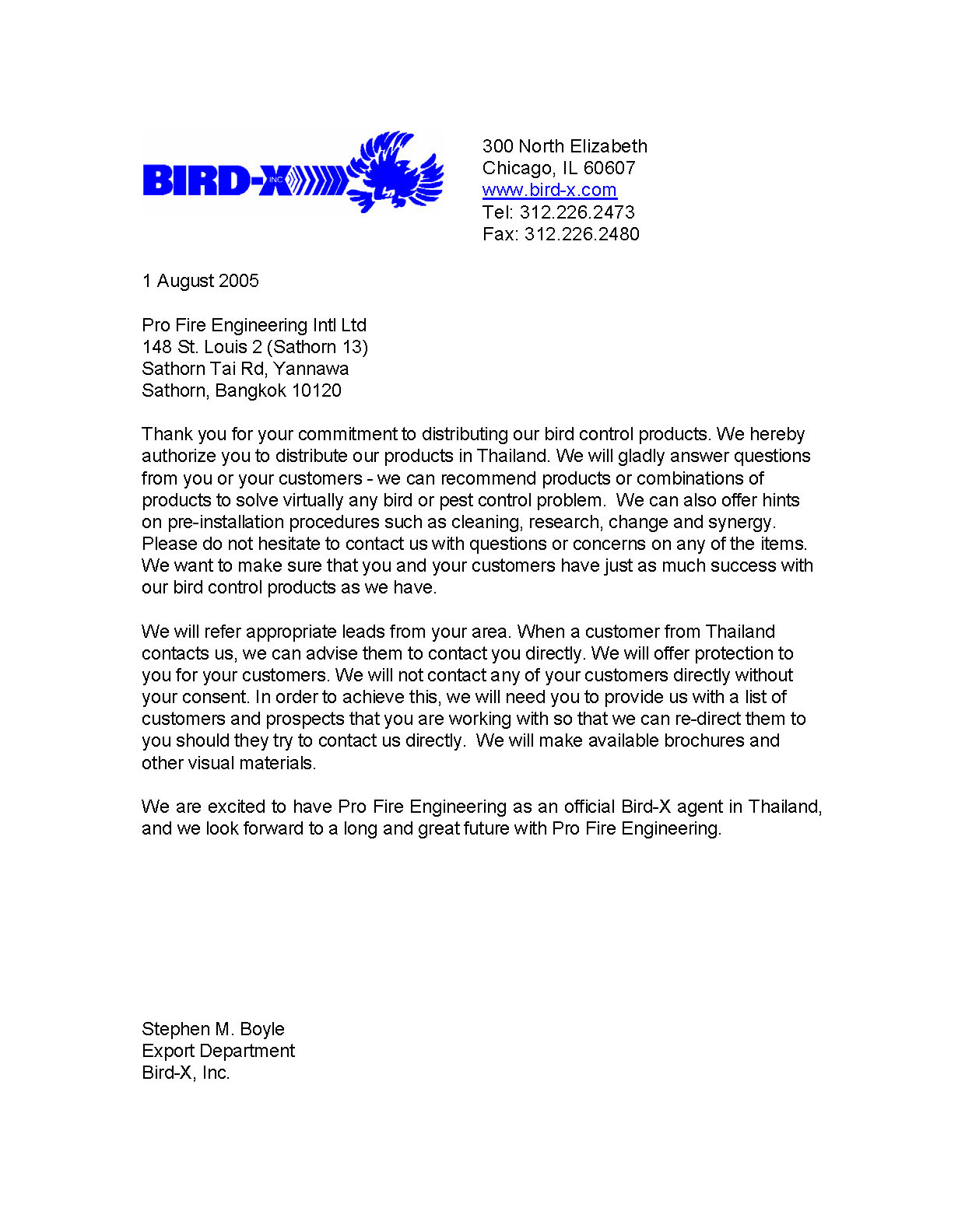 Pro-Fire-authorize-letter-Bird-X